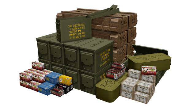 弾薬箱アクセセット