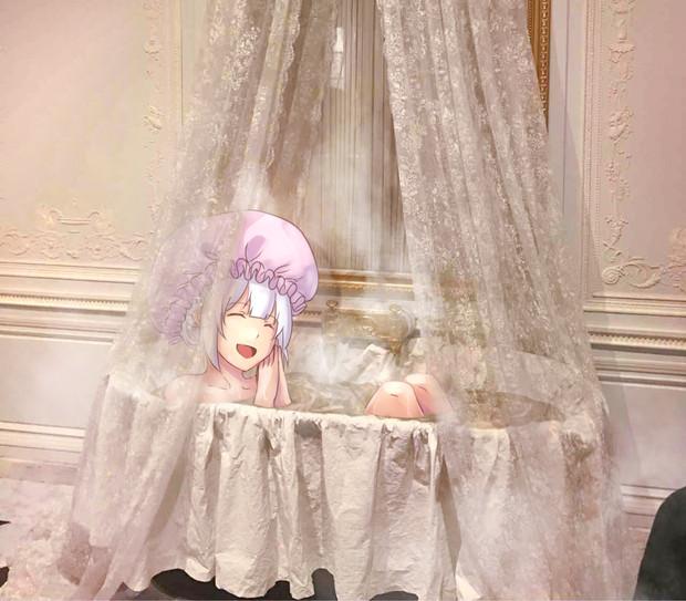 マリーちゃんのお風呂