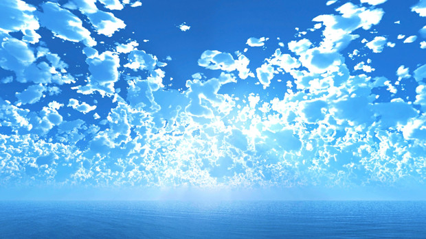 【MMDステージ配布】光が拡散する午後 TN7【スカイドーム】