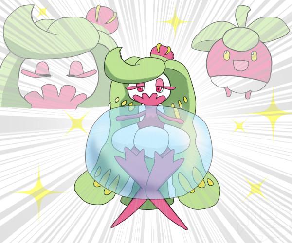 オニシズクモのなかまづくりで水泡の特性を身につけ不意に童心に返るアマージョ