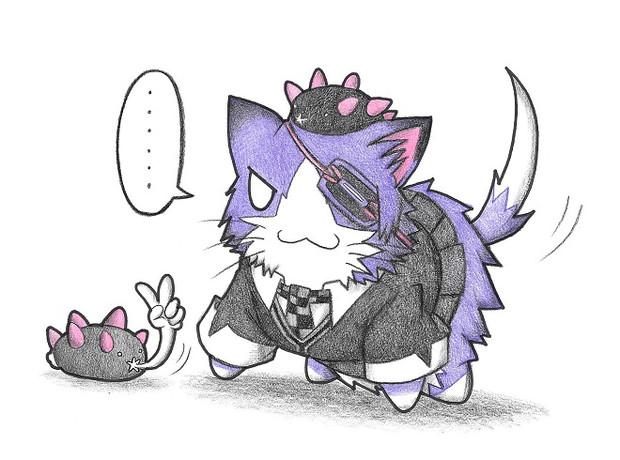 天龍ネコとナマコブシ
