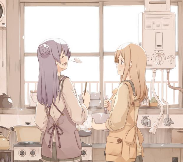 国木田さん家の台所。