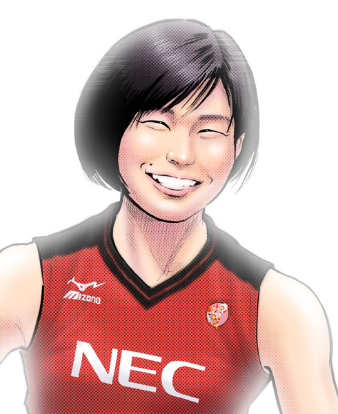 柳田光綺選手(NECレッドロケッツ)
