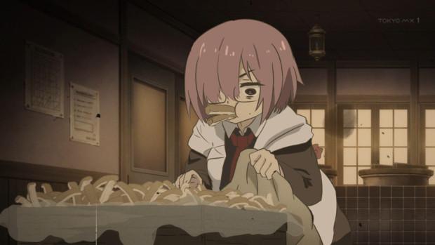 マシュの秘密1~カルデアお昼残りののパンの耳を隠れて食す~