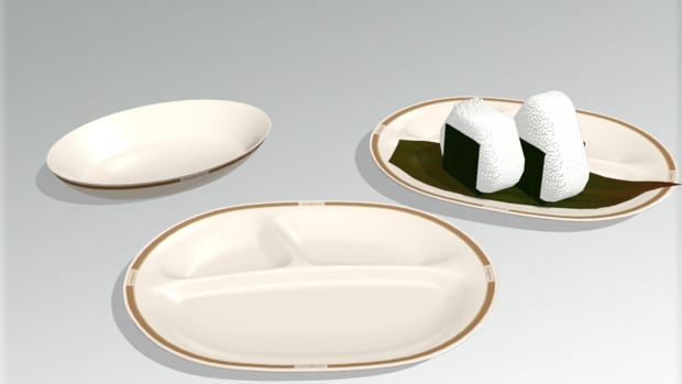 【MMDアクセサリ配布】あの皿