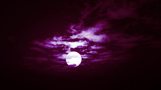 【MMDステージ配布】赤い月夜 TP2【スカイドーム】