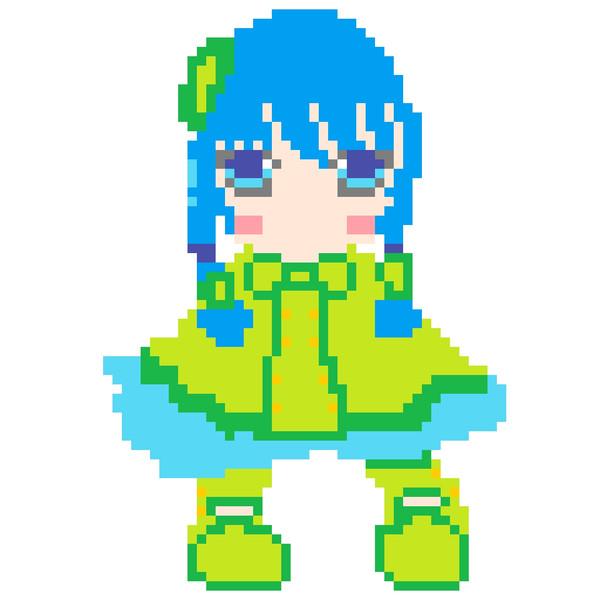 ゲームボーイ風ツユハちゃん  ※制作途中