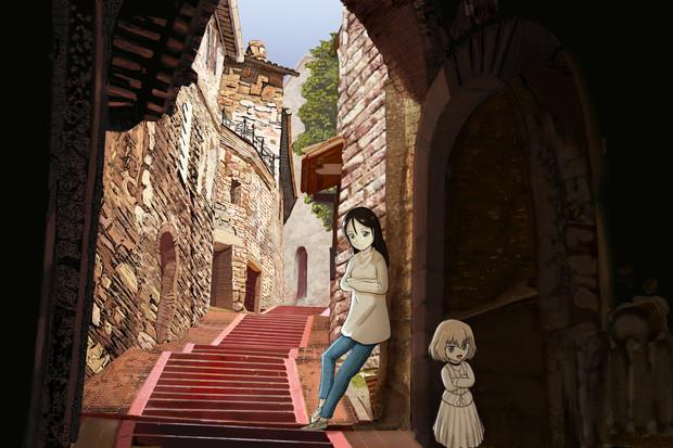 ノンナさんとカチューシャのイタリア旅行