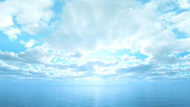 【MMDステージ配布】柔らかな光の午後 TP3【スカイドーム】