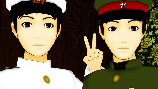 モブな提督と陸軍人、改変してみました。【モデル配布】
