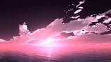 【MMDステージ配布】穏やかな夕焼け TP5【スカイドーム】