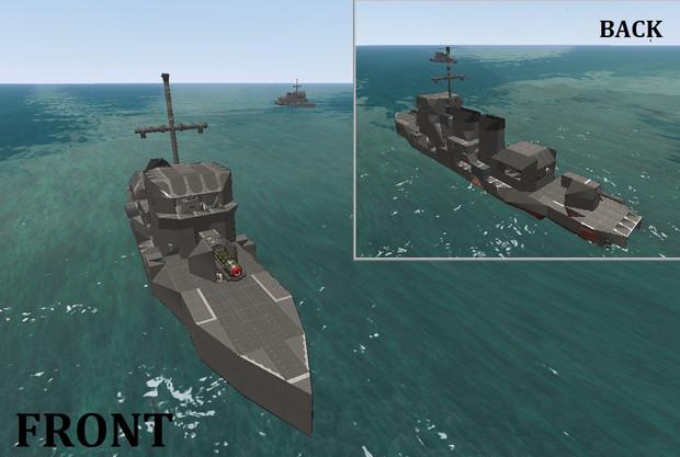 テーク級駆逐艦
