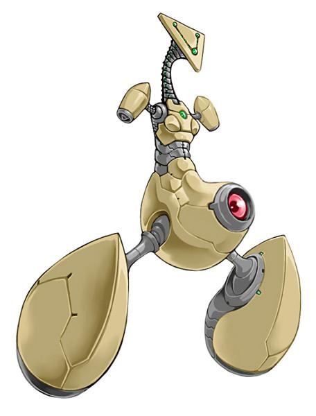 仮面土偶型ロボ