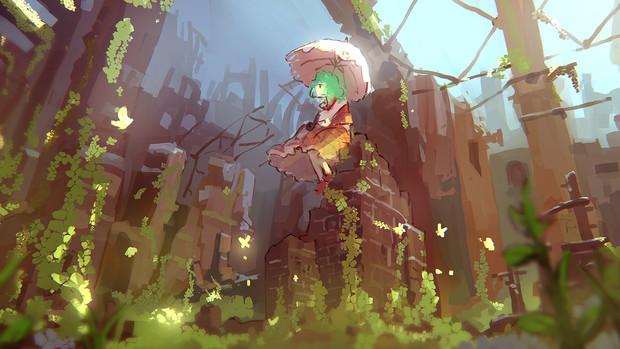 風見幽香の廃墟