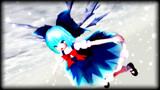 雪に游ぶ妖精