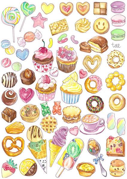 お菓子 じんたえ さんのイラスト ニコニコ静画 イラスト