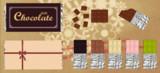 シンプルな板チョコ