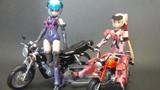 ガールとバイク