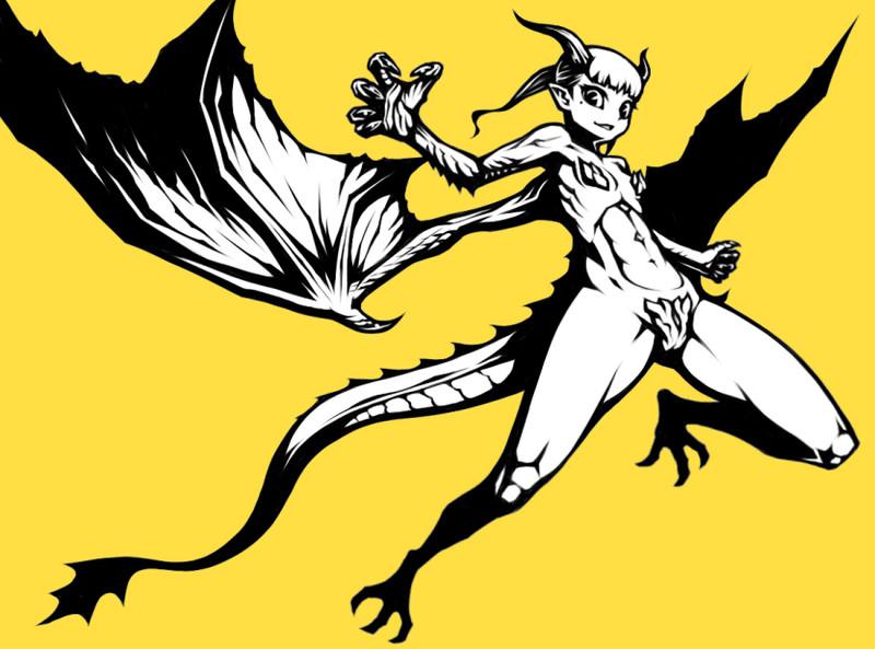 ドラゴン娘