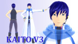 【MMD】riezou式 KAITO V3【モデル配布】