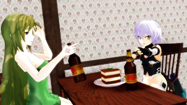 【Fate/MMD】バレンタインにルートビアを添えて