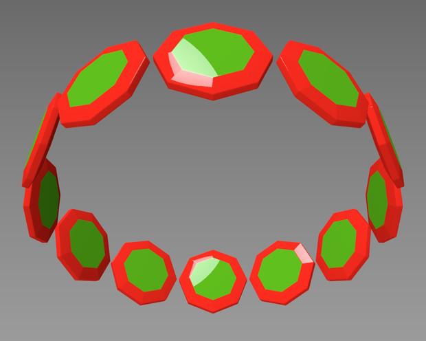 八角形の輪