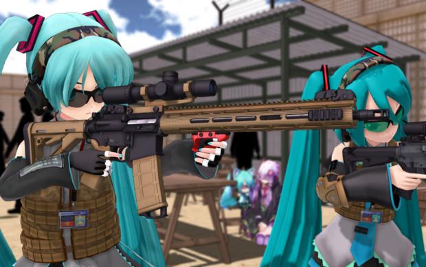 MMD-SHOT SHOW2017 -野外射撃場-②