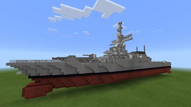 【Minecraft】フリゲート艦