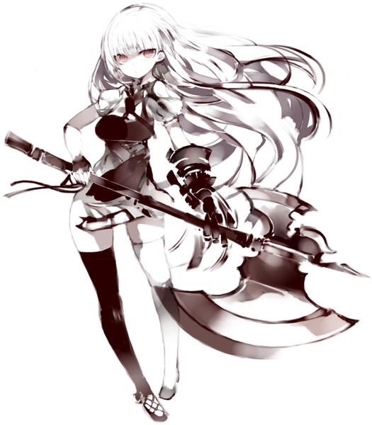 武器娘 斧