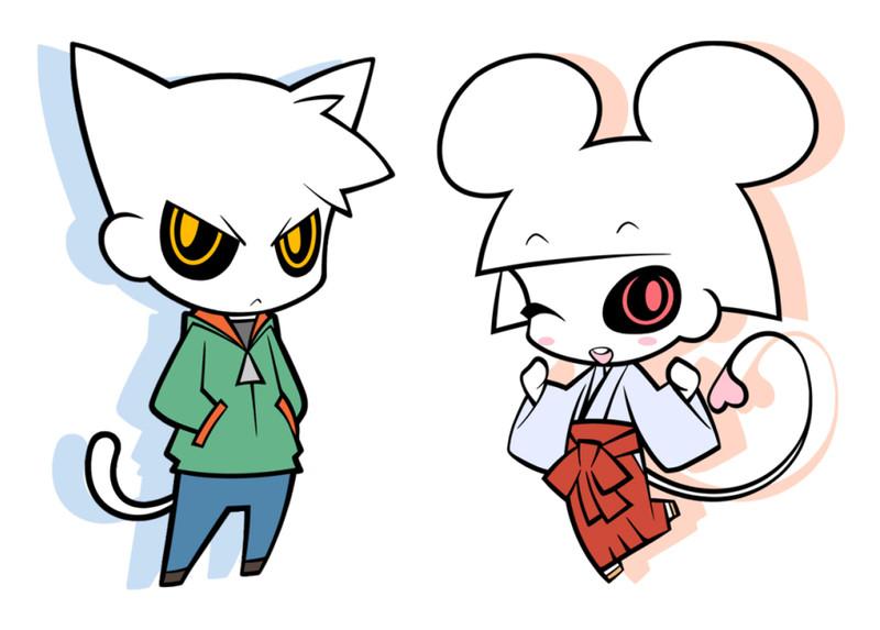 ネコビトとネズミビト