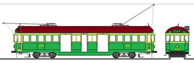 メルボルン市電W2形電車