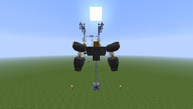 「Minecraft」試作品魔神皇帝part壱「jointblock」