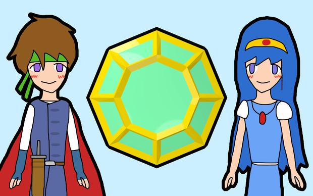 HOP (Hero, Octagon, Princess)