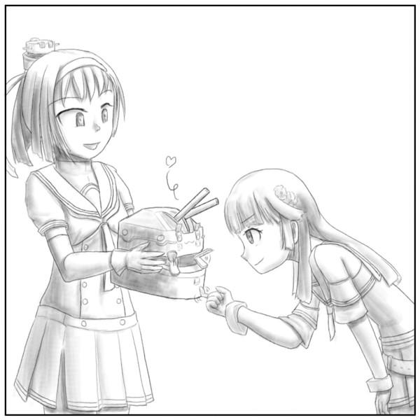 練習:駆逐艦秋月