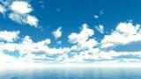 【MMDステージ配布】柔らかな雲の午後 TR3【スカイドーム】