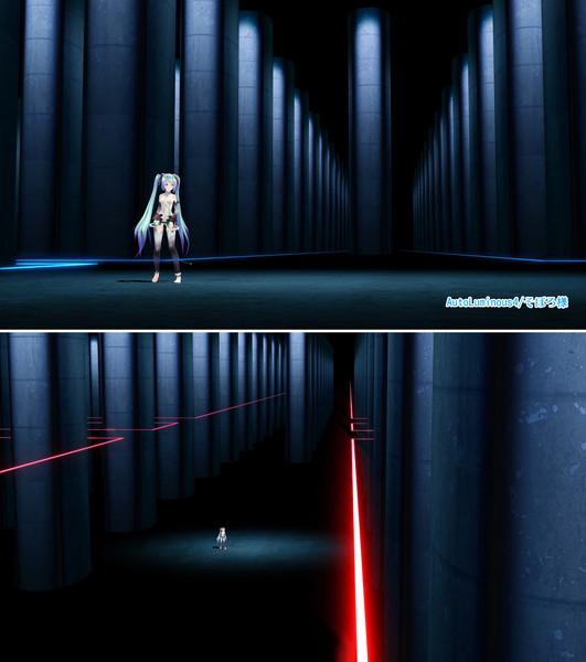 【MMDステージ配布】地下空間ステージ