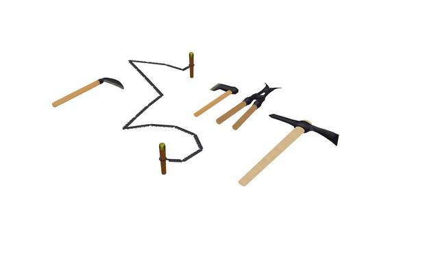 日本軍携帯工具セット