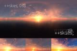 [HDR形式あり] ++skies; 033 [16k8k/8k4kスカイドーム素材配布]