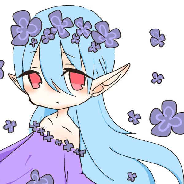 花の妖精的な