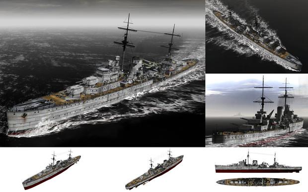 MMD用モブ軽巡洋艦1939(モブジャ...