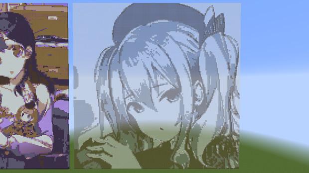 【Minecraft】マインクラフトで鹿島さん限定グラ