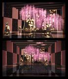 枝垂れ桜ステージ