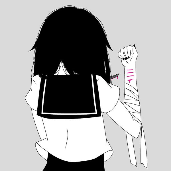 病みでリスカ もるめの さんのイラスト ニコニコ静画 イラスト