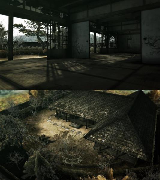 武家屋敷ステージ廃墟版【追加・更新】