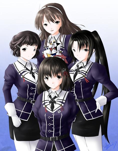 妙高型四姉妹!