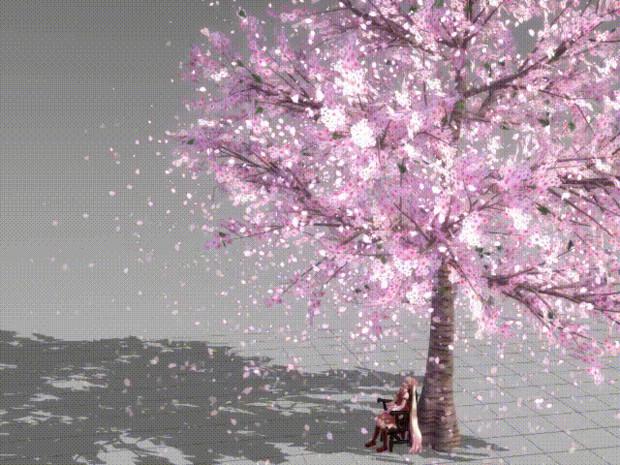 【配布中止】EM粒子対応 桜