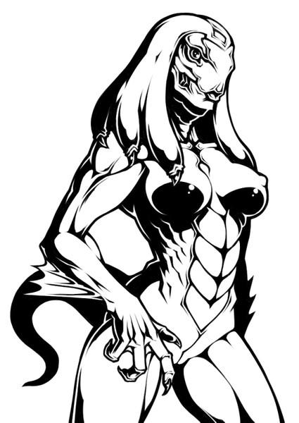 爬虫類系女子
