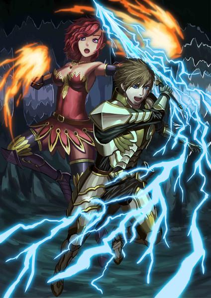 剣士と魔法使い