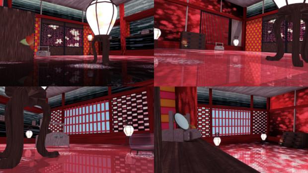 【MMD】小部屋【ステージ配布】