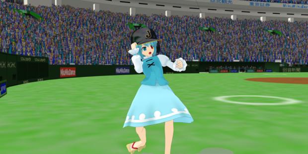 野球選手のモーション・ポーズver1.50配布します。